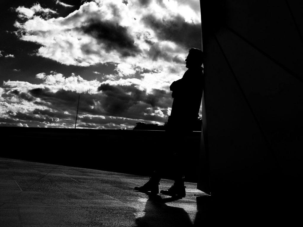 Silhouette en ville
